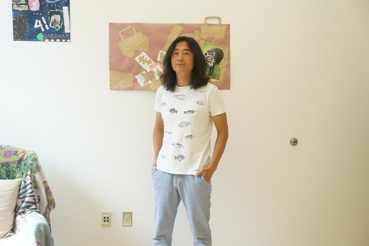 韩博在佛蒙特工作室