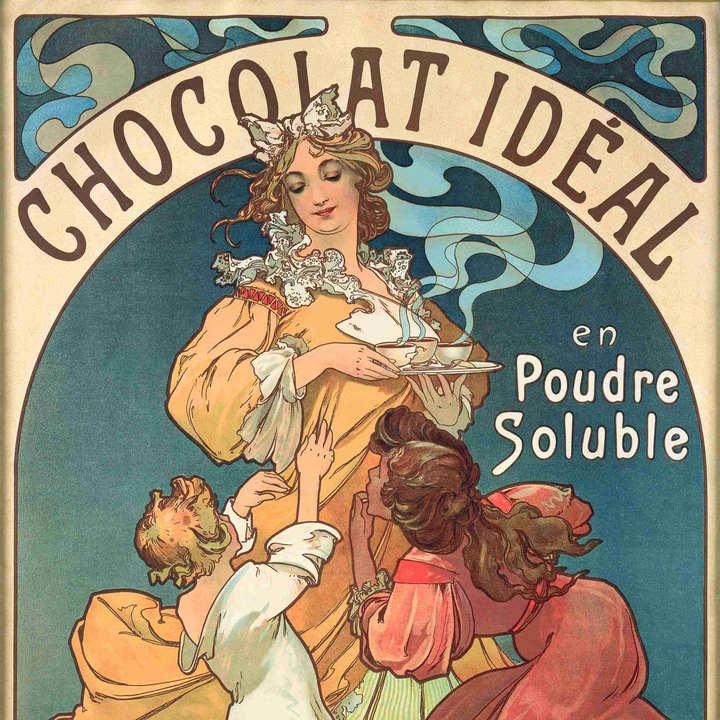 情迷巧克力海报