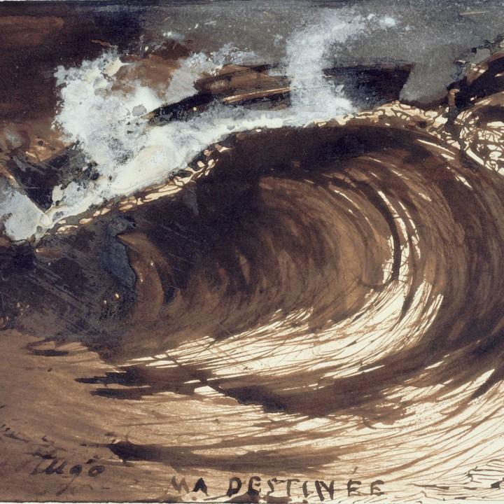 将大海做成书签,和雨果一起来看海